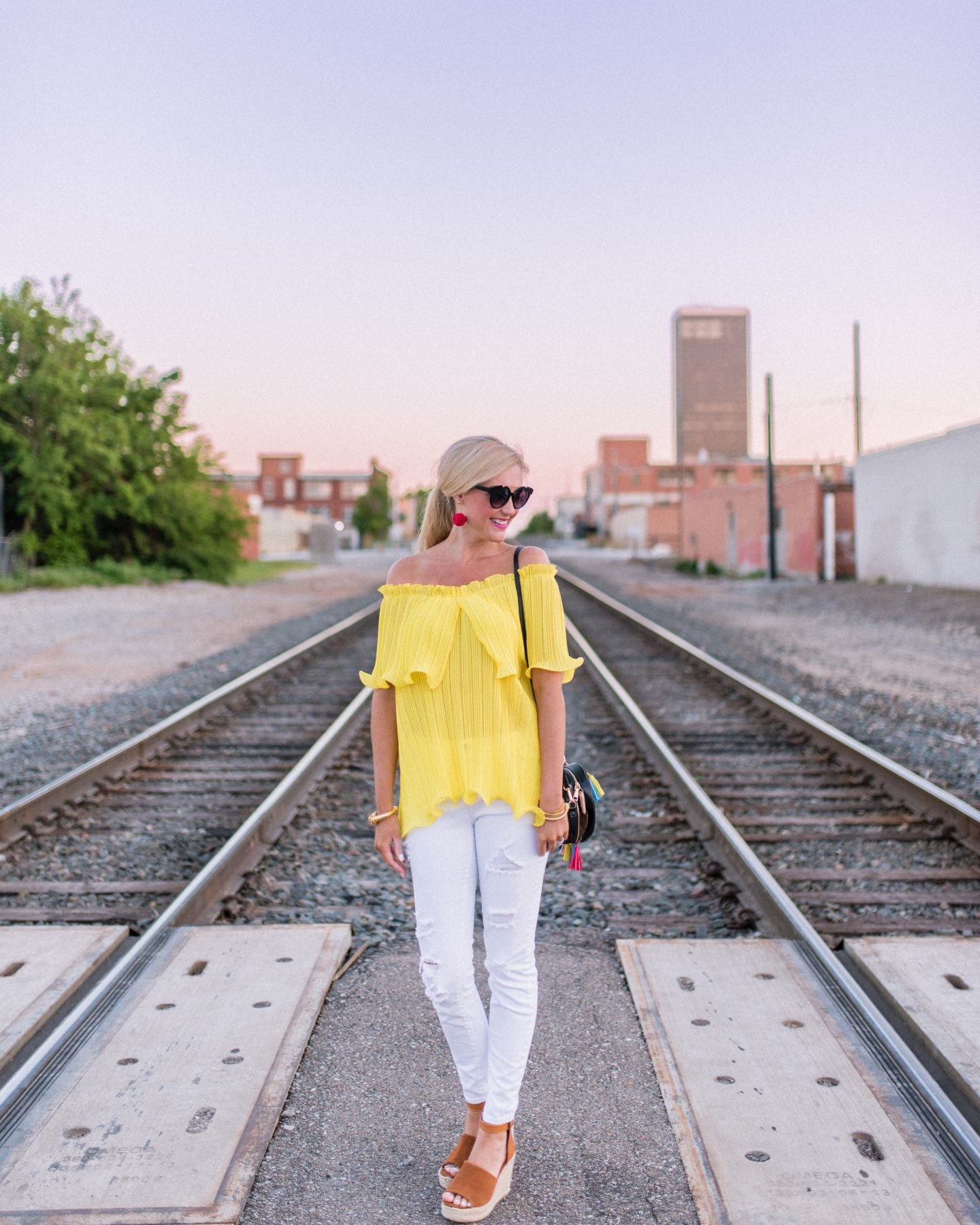 Yellow + Tassels