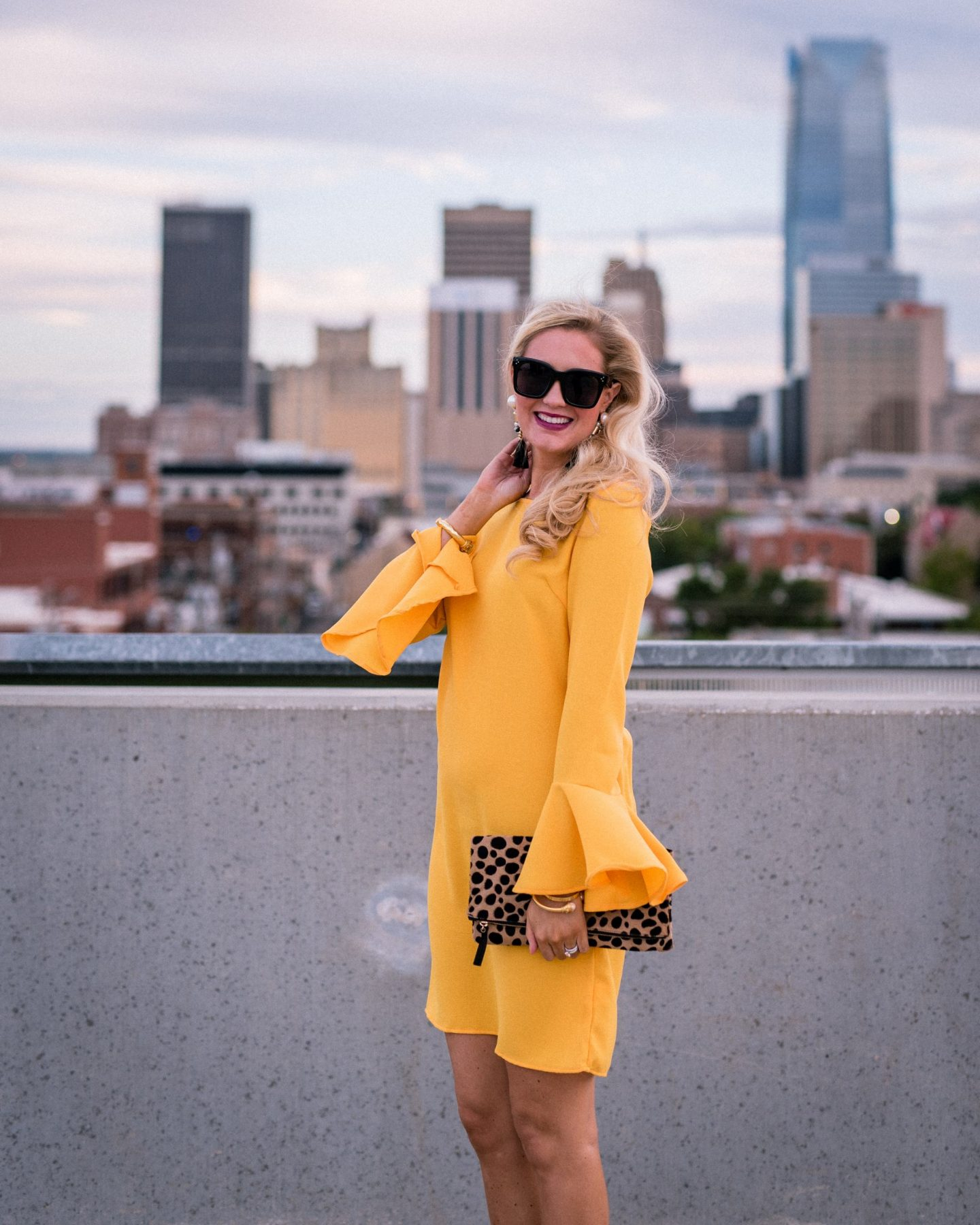 Bell Sleeves + Yellow