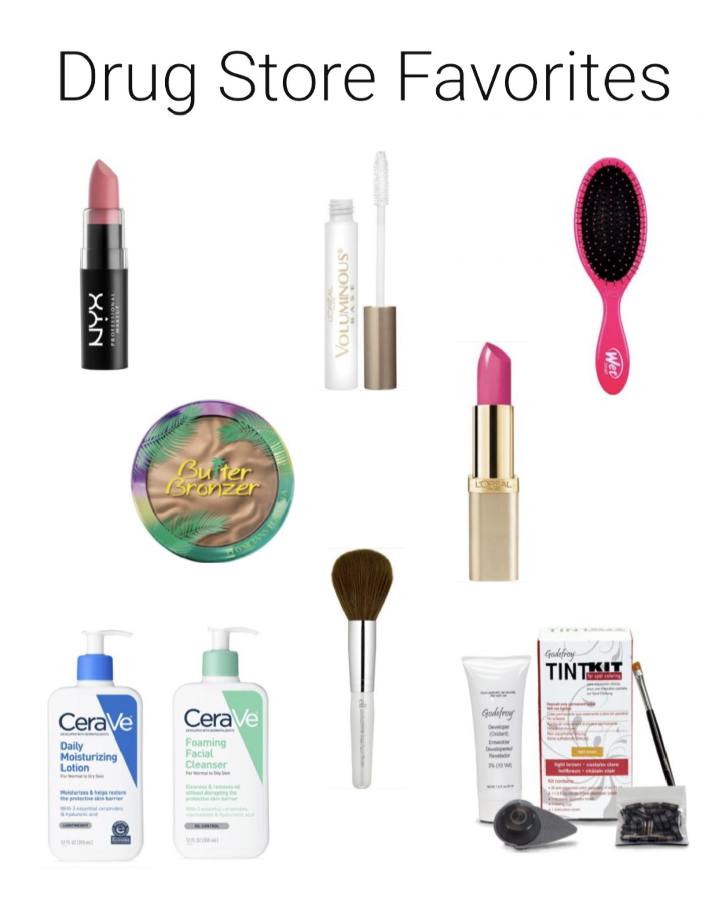 Drug Store Beauty Favorites