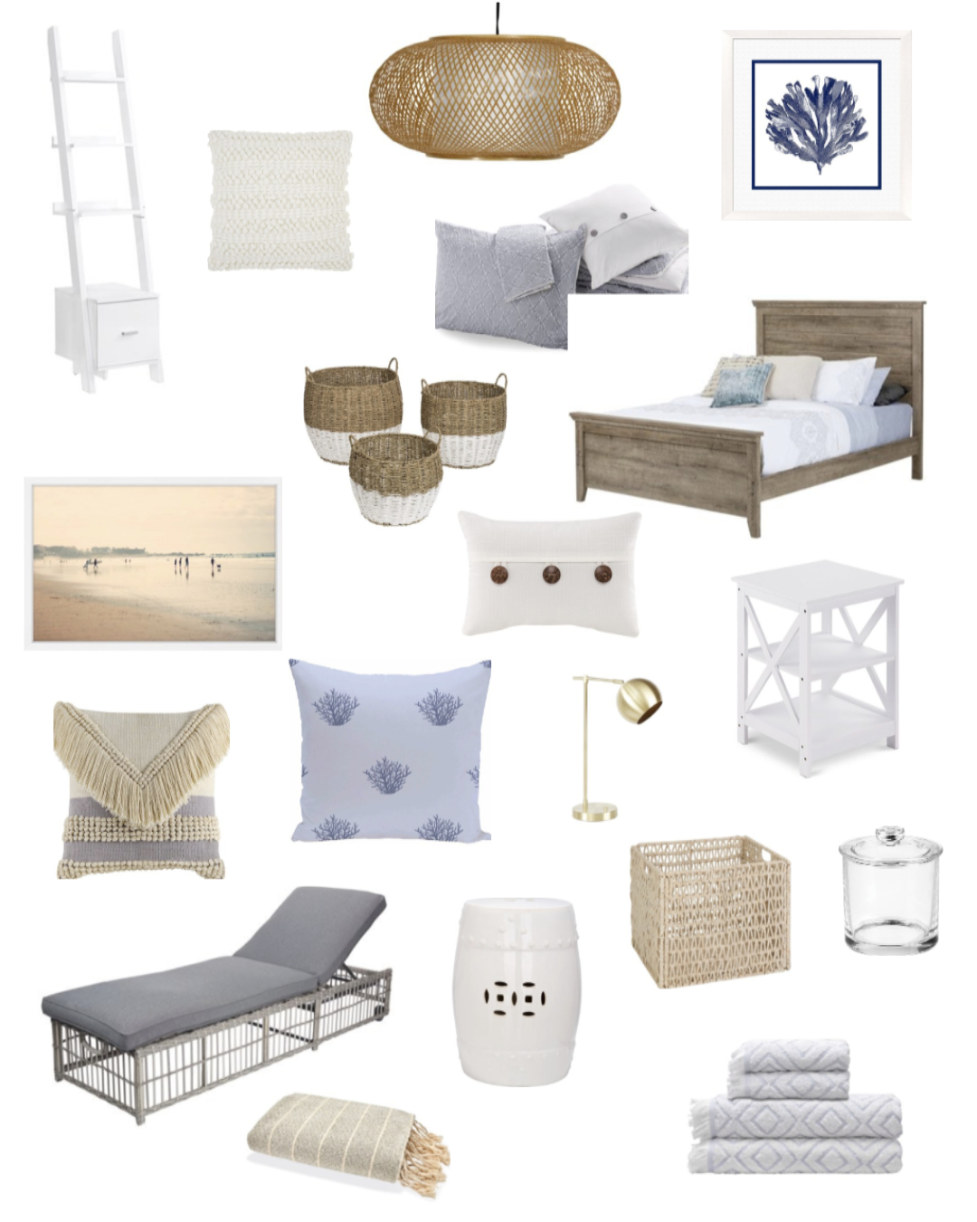 Giving Your Home a Coastal Update with Walmart