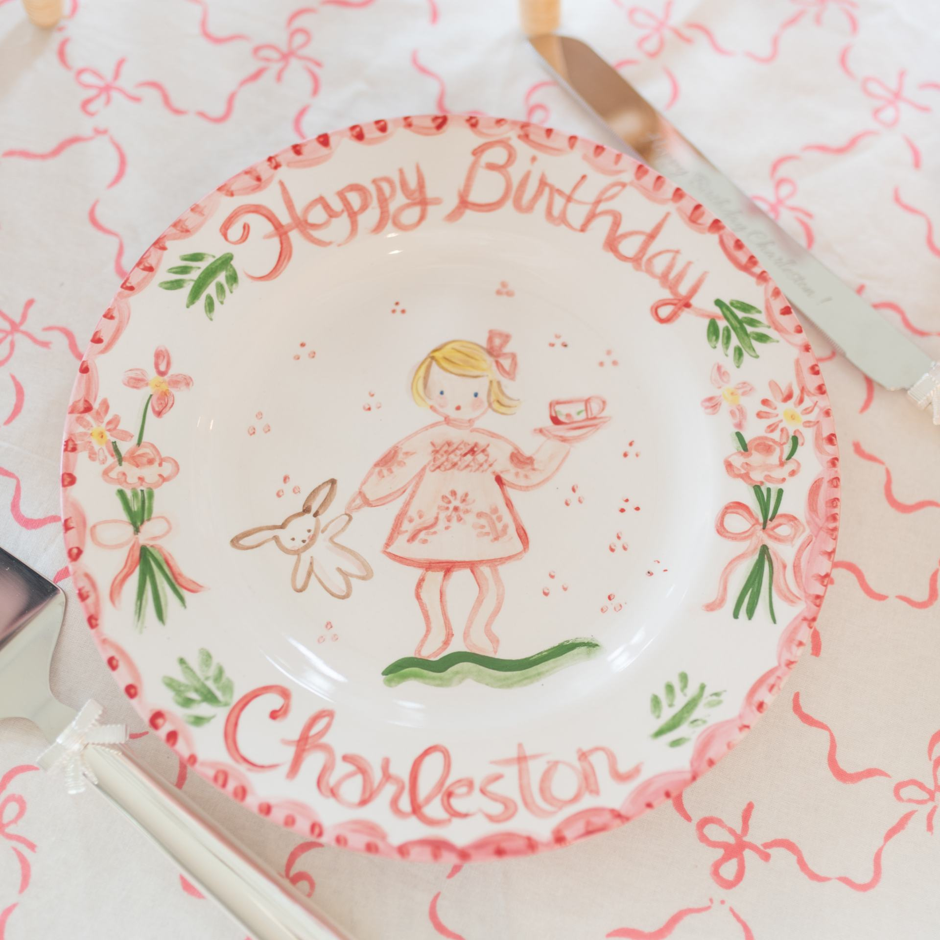 Tricia Lowenfield Custom Plate
