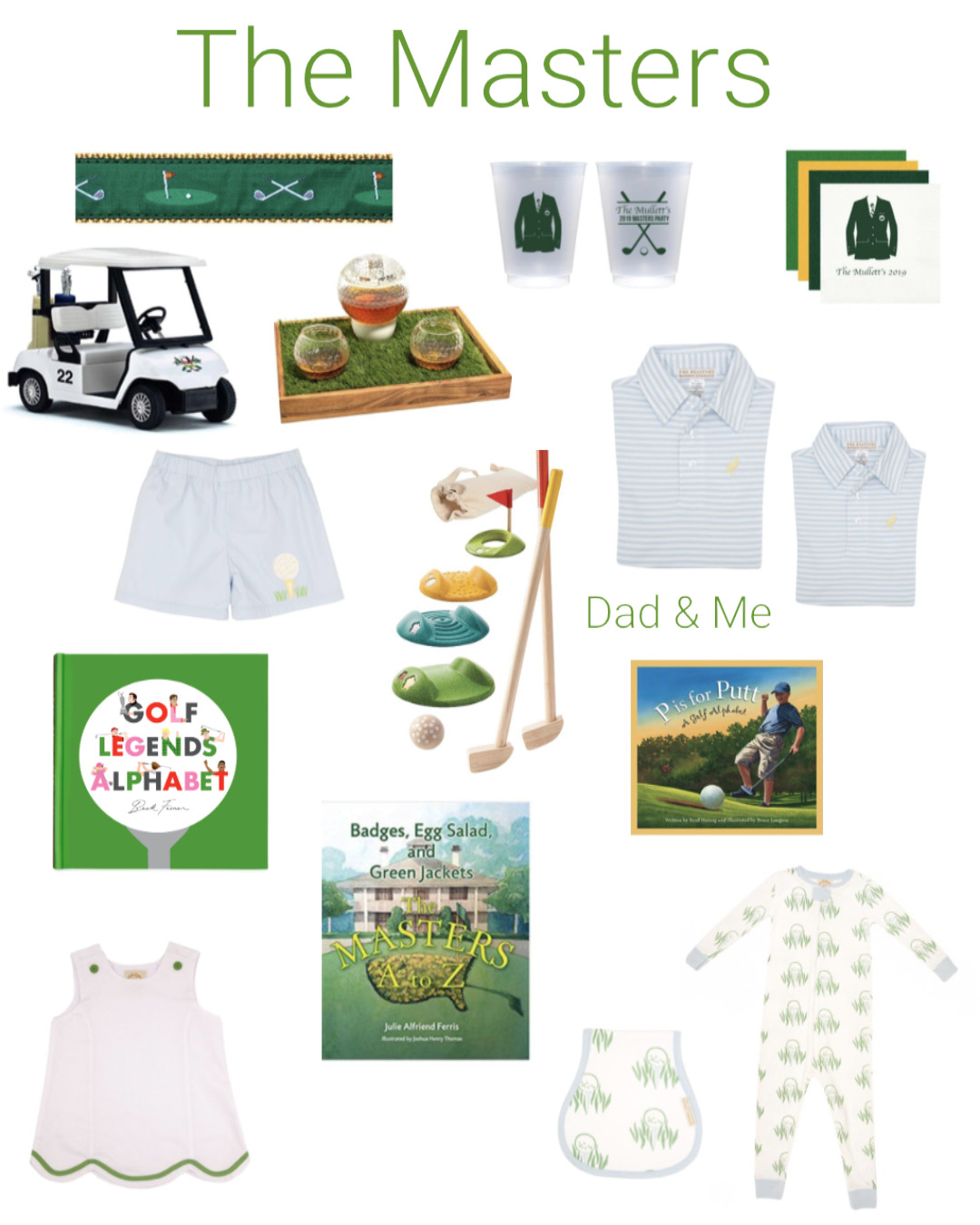 The Masters Golf Gear!