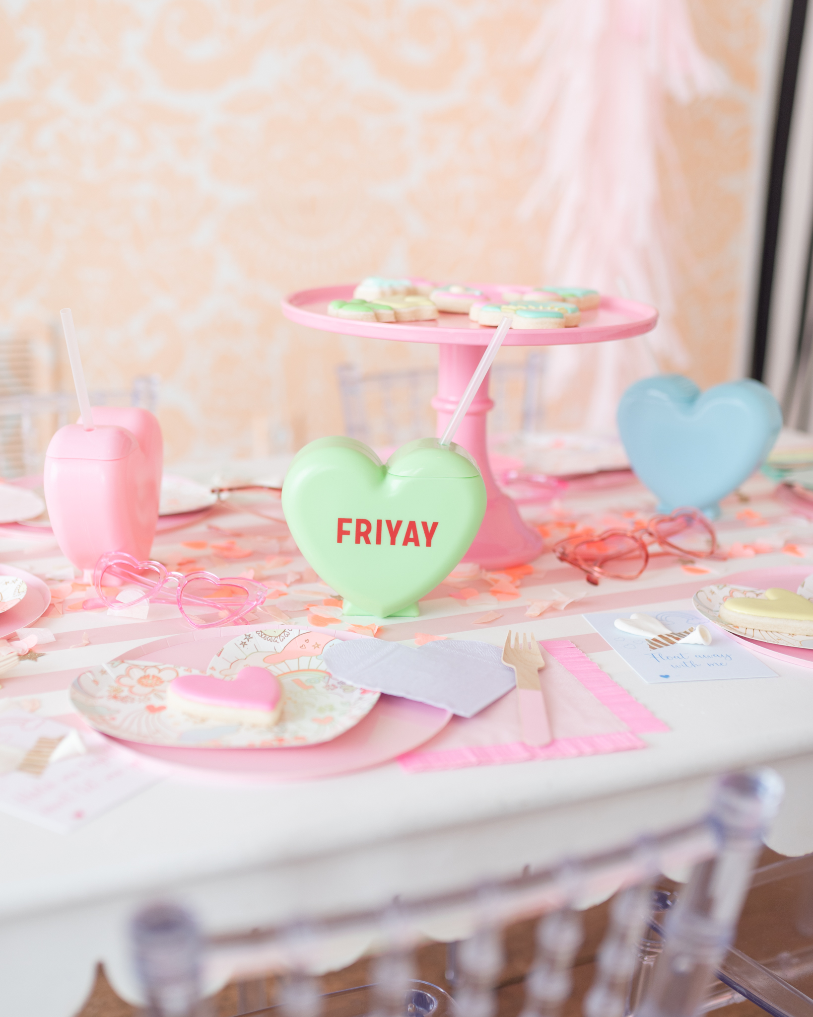 friyay valentine party