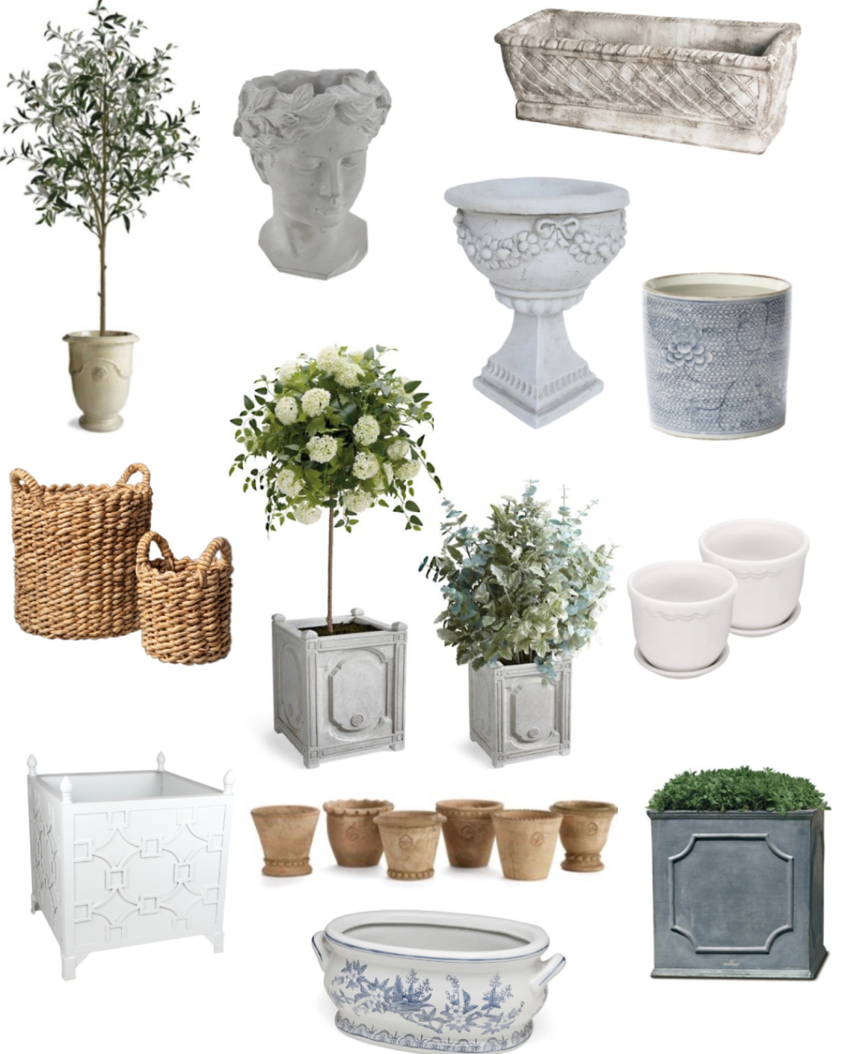 Planters & Urns